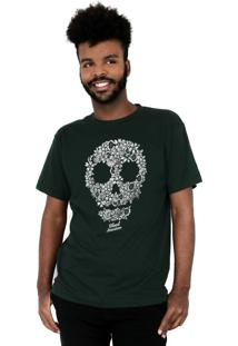 Camiseta Bleed American Flaw Musgo