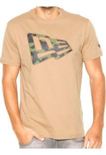 Camiseta New Era Camu Militar - Masculino