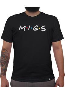 Migs - Camiseta Clássica Masculina