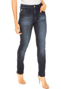 68be65521 ... Calça Jeans Ellus Skinny Estonada Azul