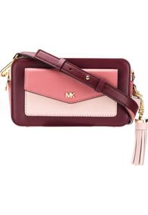 c2ccc27ce Michael Michael Kors Camera Bag Color Block - Rosa