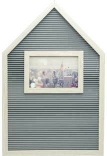 Quadro De Madeira Com Porta Retrato Para 1 Foto House Urban Home