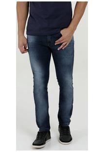 Calça Masculina Jeans Skinny Stretch Rock & Soda