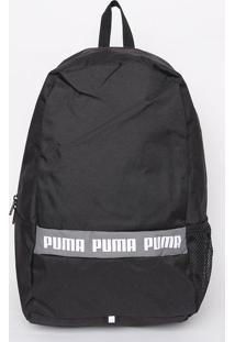 Mochila Puma® Phase -Preta & Cinza - 45X28X17Cmpuma