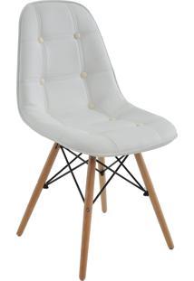 Cadeira Eiffel Sem Braço Botone Branco Rivatti Móveis