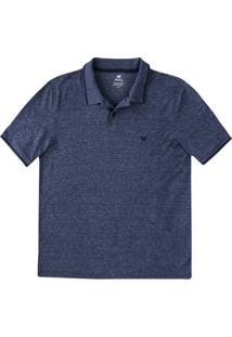 Camisa Polo Básica Masculina Em Malha Texturizada