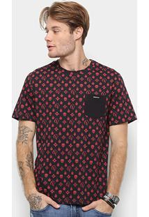 Camiseta Cavalera Cava Pattern Masculina - Masculino