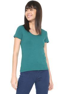 Camiseta Malwee Canelada Verde