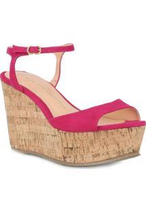 Sandália Plataforma- Rosa Escuroluiza Barcelos