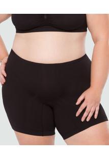 Bermuda Feminina Modeladora Super Conforto Plus Size Plié