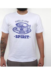 Smells Like Tea Spirit - Camiseta Clássica Masculina