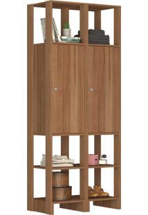 Guarda Roupa Closet 2 Peças 2 Portas C/ - Tricae