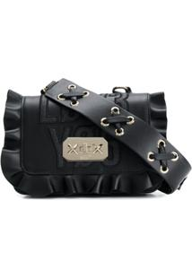 Red Valentino Bolsa Transversal 'Red(V) Encrypted Love Notes' - Preto