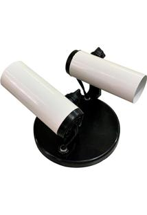Spot Popular Para 2 Lâmpadas Branco