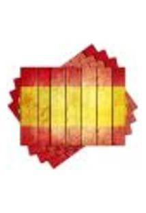 Jogo Americano - Espanha Com 4 Peças - 938Jo