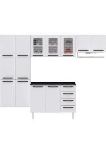 Cozinha Compacta Titanium Ii 13 Pt 4 Gv Branca