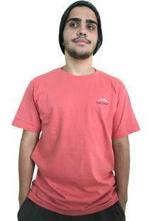 Camiseta Lakai Fun Times Coral