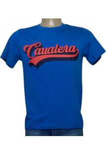 Camiseta Masc Cavalera Clothing 01.20.0177 Royal