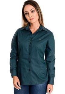 Camisa Pimenta Rosada Mahina - Feminino-Verde