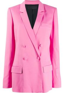 Haider Ackermann Double-Breasted Jacket - Rosa