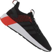 24a37e879dd Tênis Adidas Questar Byd - Masculino - Preto Vermelho