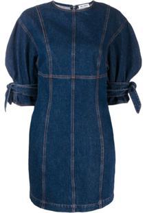 Attico Vestido Jeans - Azul