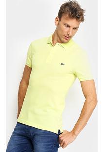 4337a4f998afa ... Camisa Polo Lacoste Piquet Slim Fit Masculina - Masculino