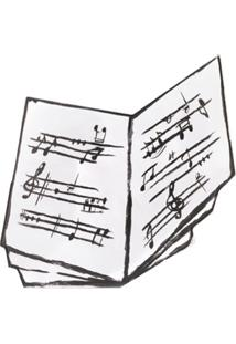 Moschino Clutch Score - Branco