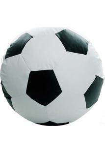 Puff Ball Infantil Futebol - Stay Puff - Branco