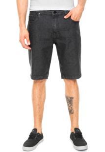 Bermuda Jeans Quiksilver Artor Preta