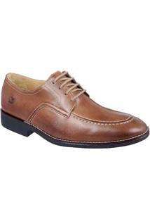 Sapato Social Masculino Derby Sandro Moscoloni Bakers Marrom - Masculino-Marrom Claro