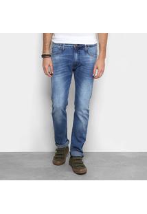 Calça Jeans Slim Colcci Masculina - Masculino-Jeans