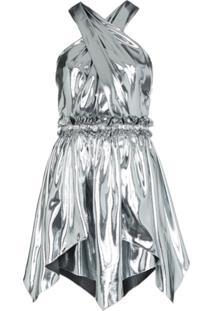 Isabel Marant Vestido Kary Metalizado - Metálico