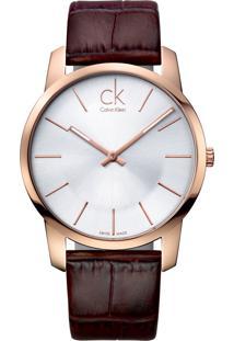 Relógio Calvin Klein K2G21629 Rosê