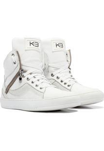 Sneaker K3 Fitness Pretty Branco