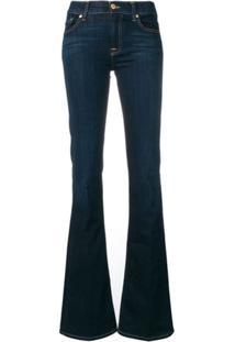 7 For All Mankind Calça Jeans Bootcut - Azul