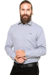 Camisa Mr Kitsch Botões Cinza