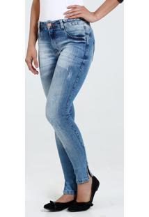 347ff3cd2 Marisa. Calça Feminina Skinny Jeans Stretch Puídos Biotipo