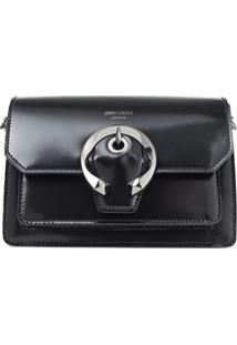 Jimmy Choo Madeline Shoulder Bag - Preto