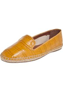 Alpargata My Shoes Textura Amarela