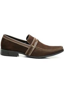 Sapato Social Gasparini 31166 - Masculino-Marrom