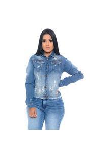 Jaqueta Jeans Femme