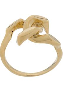 Annelise Michelson Tiny Dechainee Ring - Dourado