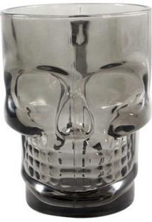 Caneca Caveira Skull Mug Preta 500 Ml