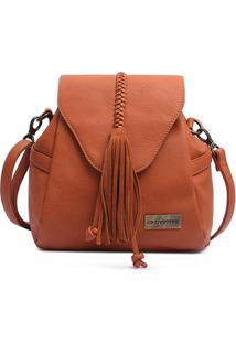 Bolsa Saco Com Cordão Mormaii - Feminino-Caramelo
