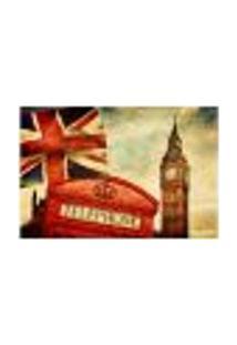 Painel Adesivo De Parede - Big Ben - Londres - 663Pnp