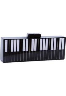 Bolsa Clutch Ac Brazil Acrílico Piano