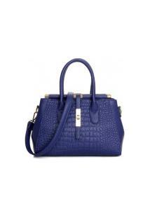 Bolsa Qianfeyia New Fashion - Azul Real