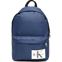 Mochila Calvin Klein Jeans Grande Aplique Azul 215aa71168