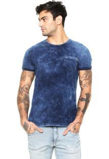 Camiseta Rock&Soda Reta Azul
